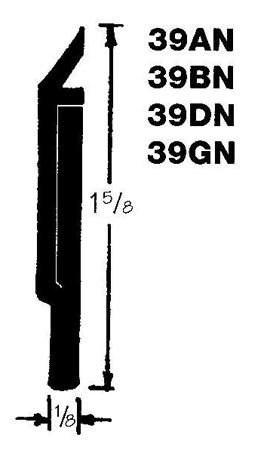 Dorbin 39gn gold door sweep 48 length - Commercial door sweeps for exterior doors ...