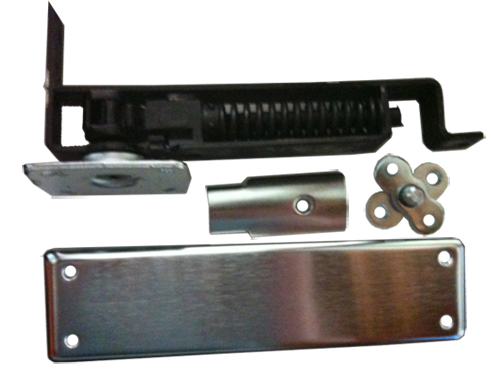 Double Action Door Hinge Manufacturers Mail: Bommer 7811-646 Horizontal Spring Pivot With Floor Plate