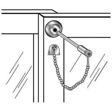 Mag 8752 Sliding Patio Door Pin Lock