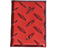 MCA 1BLK-R Single Blank Cover- Red
