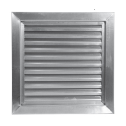 Air Louvers 800A1 14x6 Stainless Steel Louver