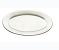 Tomlinson #1006359 Standard Oval Dinner Platter- Frosty Finish