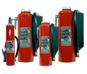 Ansul fire extinguisher parts list