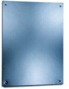 Bobrick B-1556 1620 Frameless Stainless Steel Mirror 19-1/2