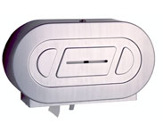 Bobrick B-2892 Twin Jumbo Roll Toilet Tissue Dispenser