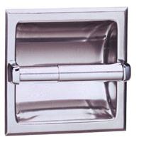 Bobrick B-667 Bright FinishToilet Tissue Dispenser Mounting Clamp