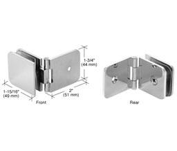 Crl Adj037ch Adjustable 037 Series Wall Mount Glass Clamp