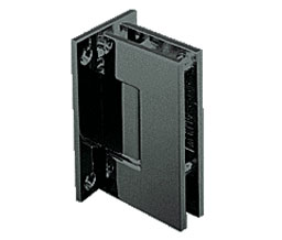C R Laurence Co Inc Crl Gen037Gm  Geneva 037 Series Wall Mount - Full Back Plate - Standard Hinge - Gun Metal at Sears.com