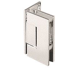 CRL JRG044PN Junior Geneva 044 Series Wall Mount Offset Back Plate Hinge - Polished Nickel