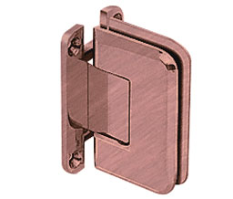 C R Laurence Co Inc Crl P1N037Abco  Pinnacle 037 Series Wall Mount - Full Back Plate - Standard Hinge - Antique Brushed Copper at Sears.com