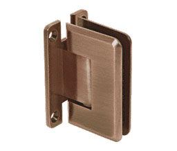 C R Laurence Co Inc Crl P1N037Abr Pinnacle 037 Series Wall Mount - Full Back Plate - Standard Hinge - Antique Brass at Sears.com
