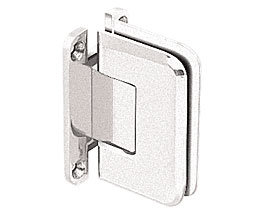 C R Laurence Co Inc Crl P1N537Bn  Pinnacle 537 Series Wall Mount - Full Back Plate - Standard Hinge With 5 Degree Offset - Brushed Nickel at Sears.com