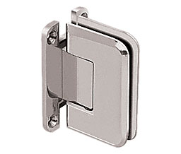 C R Laurence Co Inc Crl P1N037Gm Pinnacle 037 Series Wall Mount - Full Back Plate - Standard Hinge - Gun Metal at Sears.com