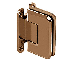 C R Laurence Co Inc Crl P1N537Orb  Pinnacle 537 Series Wall Mount - Full Back Plate - Standard Hinge With 5 Degree Offset - Oil Rubbed Bronze at Sears.com