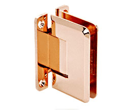 C R Laurence Co Inc Crl P1N037Pco Pinnacle 037 Series Wall Mount - Full Back Plate - Standard Hinge - Polished Copper at Sears.com