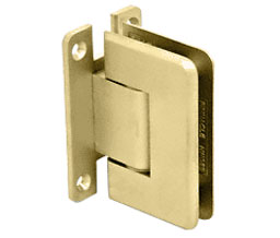 C R Laurence Co Inc Crl P1N337Sb Pinnacle 337 Series Adjustable Wall Mount - Full Back Plate Hinge - Satin Brass at Sears.com