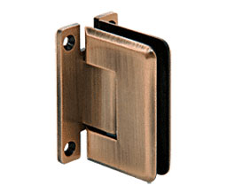 C R Laurence Co Inc Crl P1N537Abrz  Pinnacle 537 Series Wall Mount - Full Back Plate - Standard Hinge With 5 Degree Offset - Antique Bronze at Sears.com
