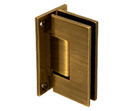 C R Laurence Co Inc Crl V1E537Abr  Vienna 537 Series Wall Mount - Full Back Plate Hinge With Internal 5 Degree Pin - Antique Brass at Sears.com