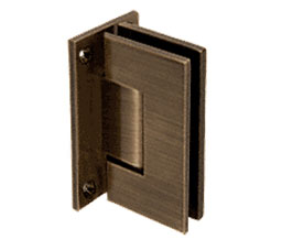 C R Laurence Co Inc Crl V1E537Abrz  Vienna 537 Series Wall Mount - Full Back Plate Hinge With Internal 5 Degree Pin - Antique Bronze at Sears.com