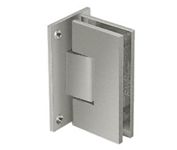 C R Laurence Co Inc Crl V1E537Bn  Vienna 537 Series Wall Mount - Full Back Plate Hinge With Internal 5 Degree Pin - Brushed Nickel at Sears.com