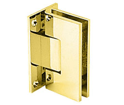C R Laurence Co Inc Crl V1E537Br  Vienna 537 Series Wall Mount - Full Back Plate Hinge With Internal 5 Degree Pin - Brass at Sears.com