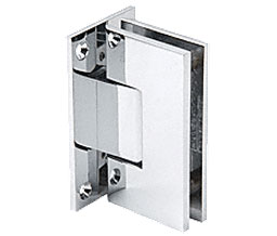 C R Laurence Co Inc Crl V1E537Ch  Vienna 537 Series Wall Mount - Full Back Plate Hinge With Internal 5 Degree Pin - Chrome at Sears.com