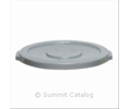 Continental 1002G LID FOR 10GAL GRAY HUSKE