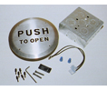 "CURRAN CE-606-S-FM ""Push-To-Open"" Pushplate-Flush"