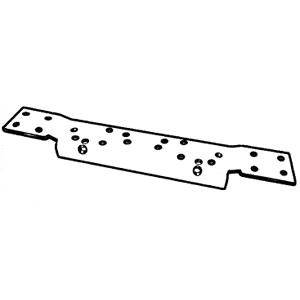 DKS DHR-29 Convertible Hi-Frequency Door Hinge Reinforcement