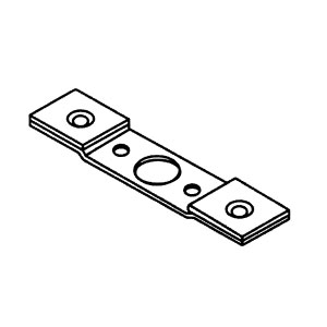 DKS MLCYL-3 Conversion Assembly Mortise Lock To Cylindrical Lock