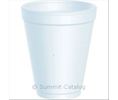 Dart 10J10 SPACE SAVER CUP FOAM 10-OZ WHITE 10JL LID