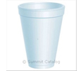 Dart 12J12 SPACE SAVER CUP FOAM 12-OZ WHITE (12JL LID)