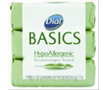 Dial 06010 DIAL BASICS BAR SOAP 1.25-OZ WHITE MARBLE WRAPPED