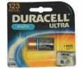 Duracell 243-DL123ABPK Duracell CR123 Lithium Photo Batteries