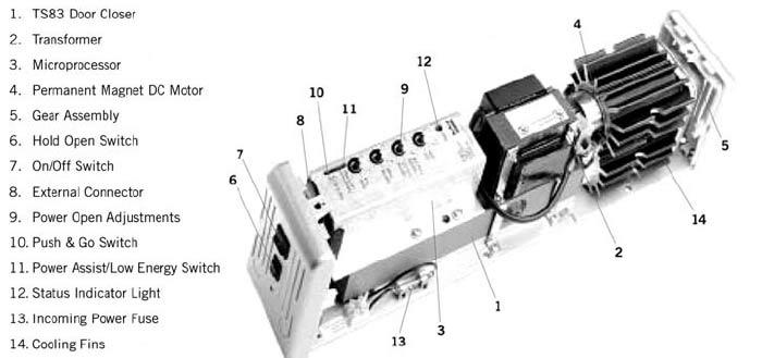 ED800_tech dorma ed 200 wiring diagram dorma es 200 wiring diagram \u2022 wiring  at gsmx.co