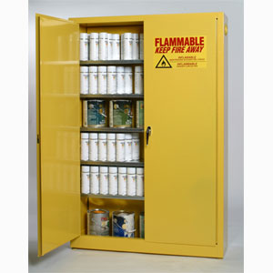 eagle ypi 7710 paint and ink yellow storage cabinet 30 gallon - Paint Storage Cabinets