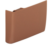 Hafele 290.02.191 Left Hand Brown Clip-On Cover Cap for Cabinet Hanger - 1 Pc.