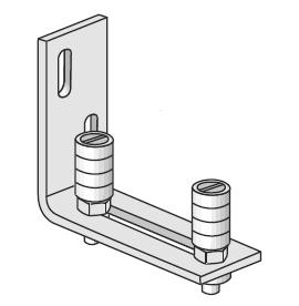 Henderson 31S Single Wall Sliding Door Steel Guide