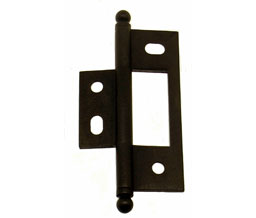 Idh 82600j 10b Non Mortise Cabinet Hinge Pair Oil Rubbed