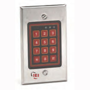 IEI 212W Flush Mount Weather Resistant Keypad
