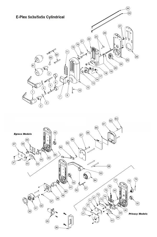 kaba e plex programming instructions