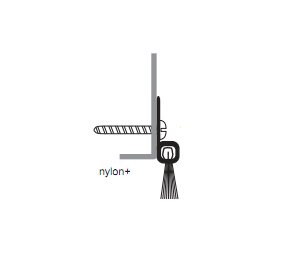 "NGP 9605A-78 78"" High Temp Perimeter Door Sweep - Anodized Aluminum"