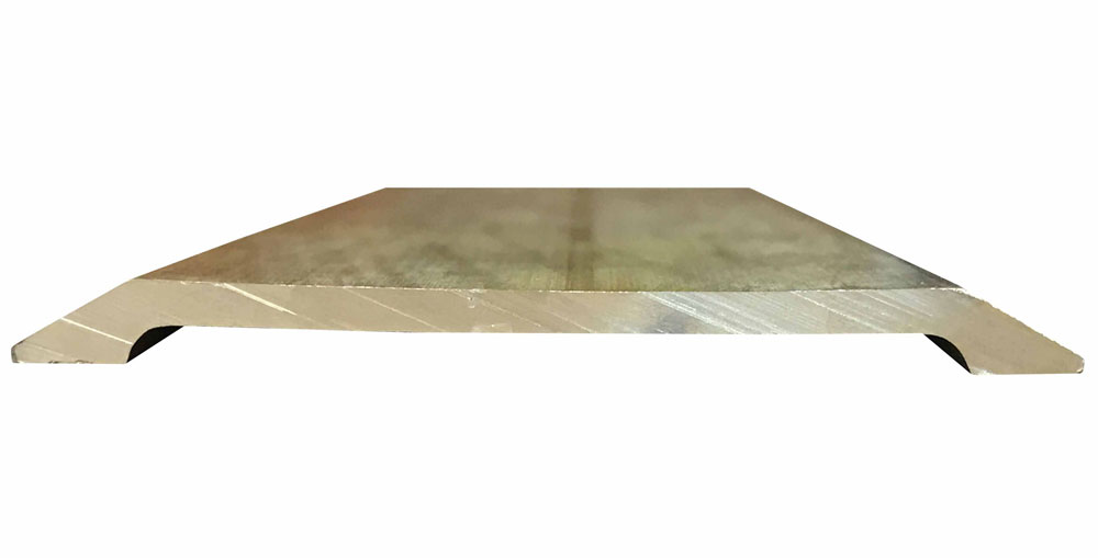 Mill Finish Extruded Bronze (Brass) Commercial Saddle Threshold