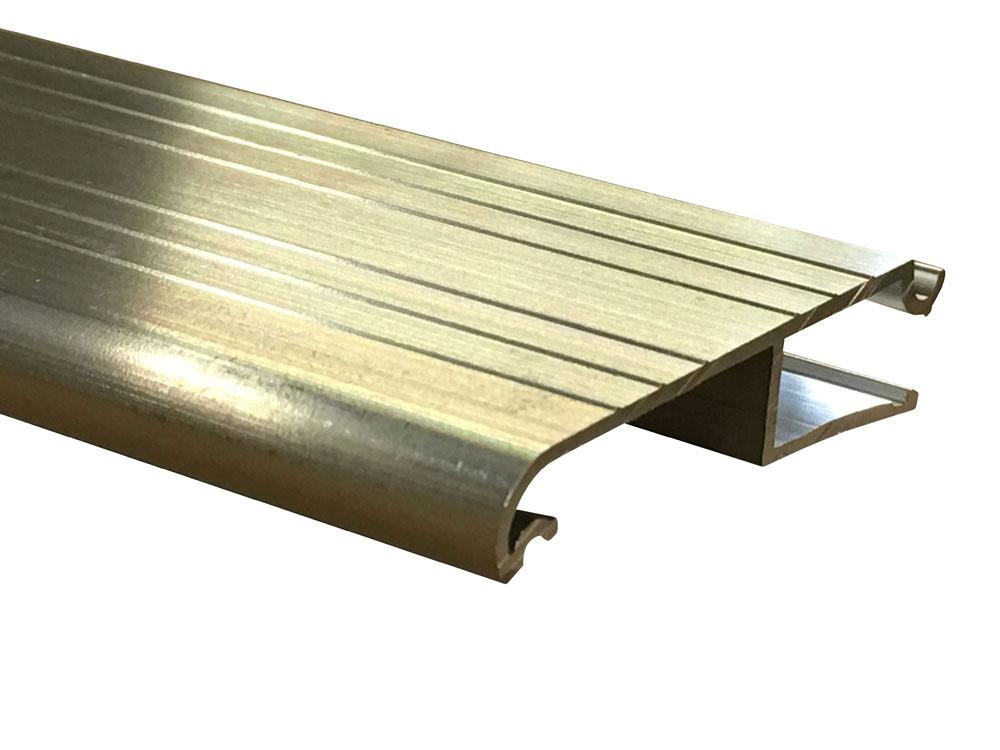 Pemko ext2a 36in mill aluminum sill extender residential - Exterior door threshold extension ...