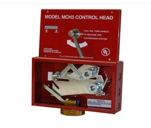 Pyro Chem 551200 Mch Control Head Mechanical With Local