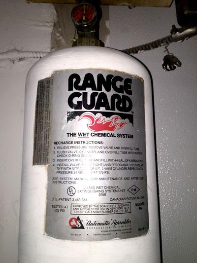 Range Guard 60 120006 001 Rg 4gm Fire Extinguisher Medium