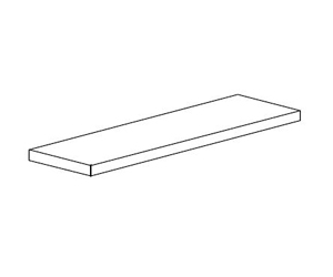 bradley p15 380 replacement shelf white painted steel. Black Bedroom Furniture Sets. Home Design Ideas
