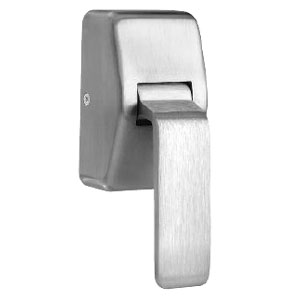 "Rockwood 596-630 Hospital Push Pull Latch -  5"" Backset-Satin Stainless St"