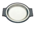 Tomlinson #1006356 Round Deep Dish Dinner Platter- Burnished Finish- 7-1/2