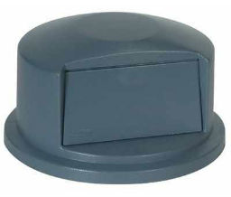 "Rubbermaid 640-2637-88-GRAY Brute® Dome Tops - 22 11/16"" Dia - Gray Color"